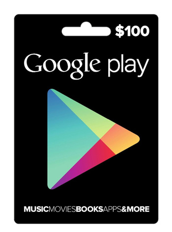 Google Play $100