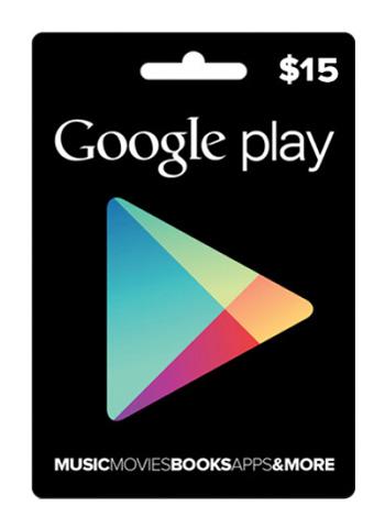 Google Play $15