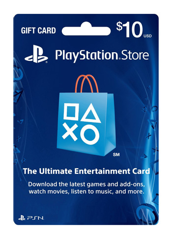 playstation store gift card u s games distribution. Black Bedroom Furniture Sets. Home Design Ideas