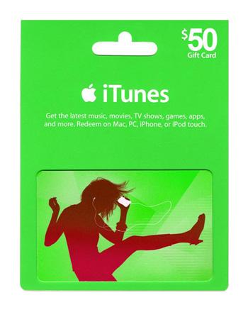 iTunes card $50