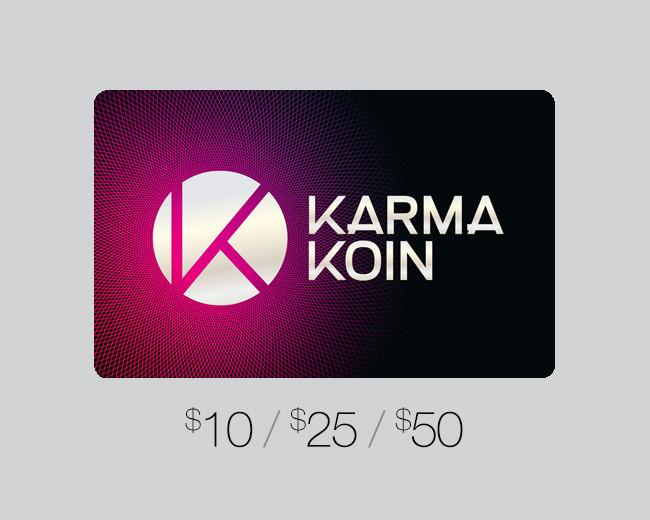 Karma Koin Gift Card