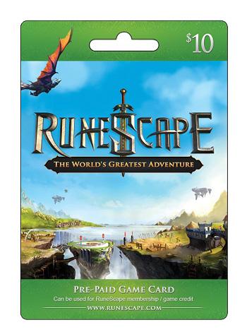 Runescape $10