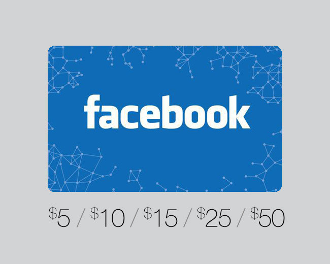 Facebook Game Card